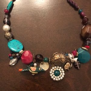 Accessorize India Inspired statement necklace